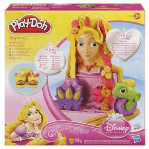 Playdoh Peinados Rapunzel caja