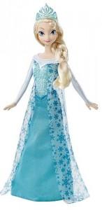 Muneca Elsa Purpurina