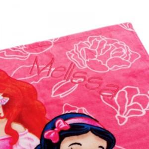 Toalla playa Princesas Disney 2014 personalizacion
