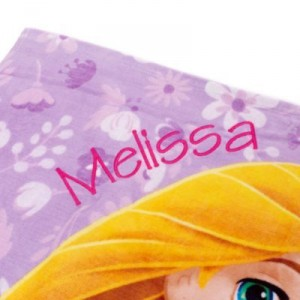 Toalla playa Rapunzel 2014 personalizacion