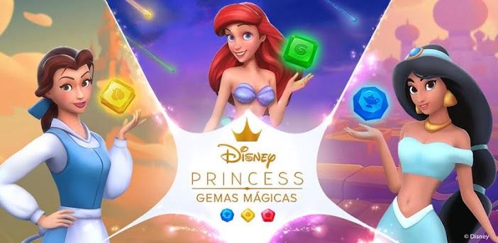 Disney Princess Gemas Mágicas el juego – Ayuda a las princesas a reconstruir sus reinos