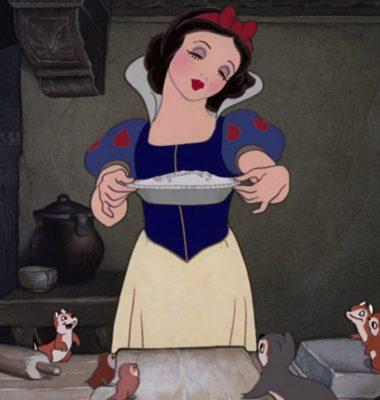 Tarta Linzer de Blancanieves